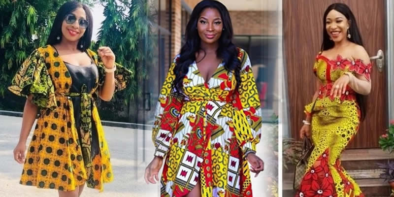 25 Latest Ankara Long Gown Styles For African Slay Queens