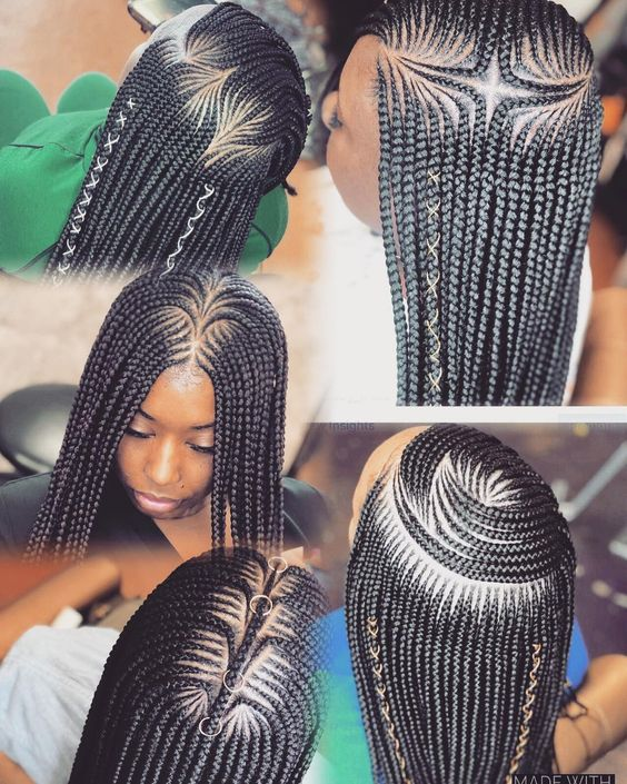 Cornrow Natural Hairstyles 2020: 25 Most African -Inspired